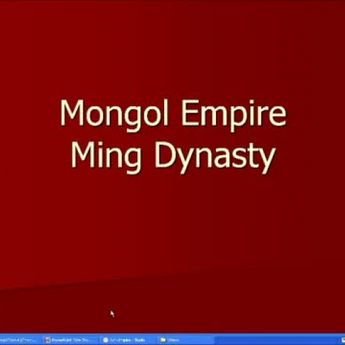 Chpater 12 Mongol