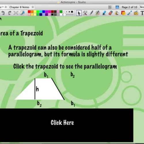 C2: 8.3 - Area of Trapezoids