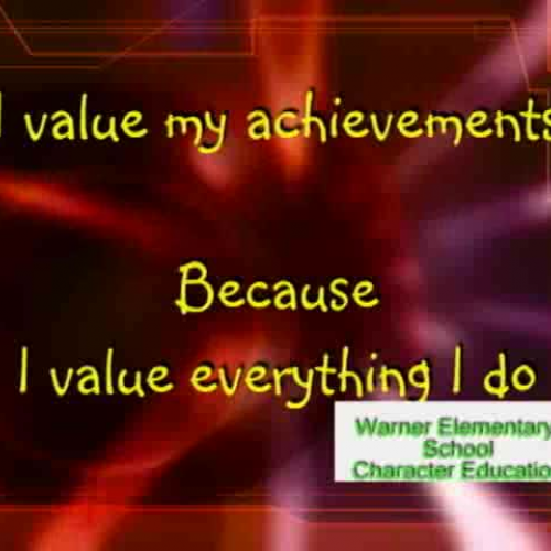 Character Education that works Value Achievem