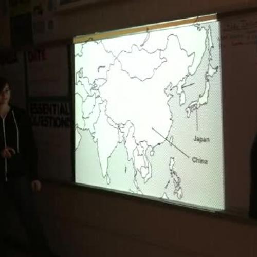 7th Grade Social Studies Asia Map Review
