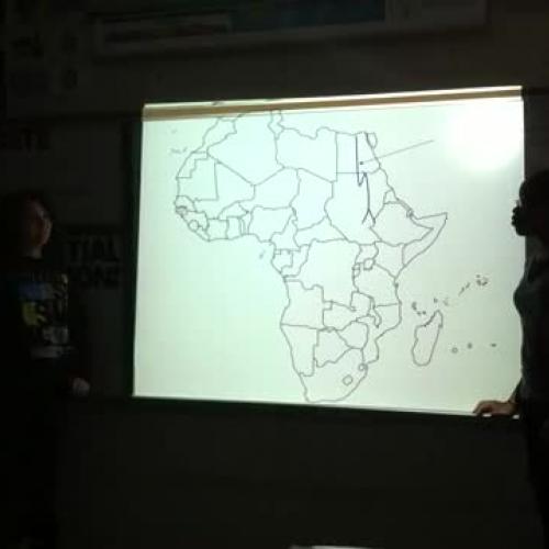 7th Grade Social Studies Africa Map Review