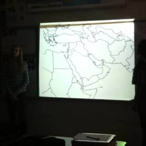 7th Grade Social Studies Middle East Map Revi