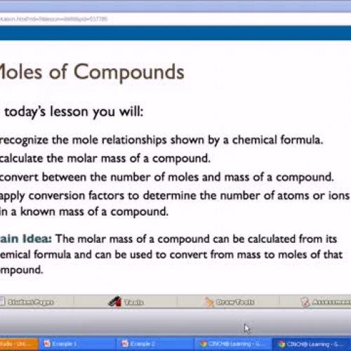 10.3 Mole and Compounds