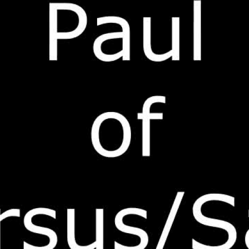 Paul of Tarsus/Saul