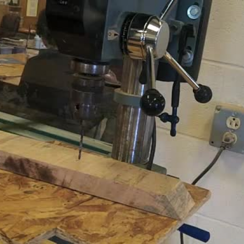 Drill Press Safety Video #4