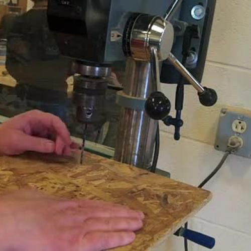 Drill Press Safety Video #5