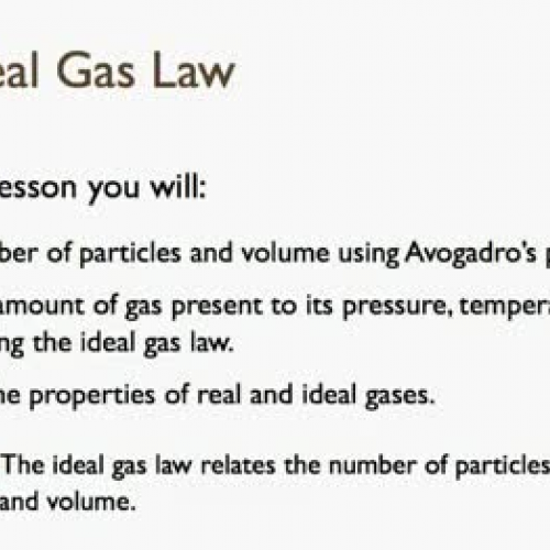13.2 The Ideal Gas Law