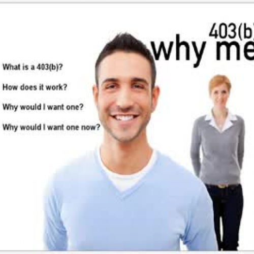 403(b) Why Me? Part 2