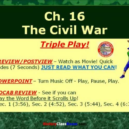Ch. 16 The Civil War (Triple-Play USA)