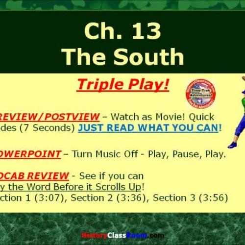 Ch. 13 The South (Triple-Play USA)