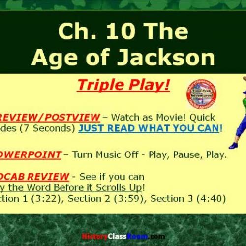 Ch. 10 The Age of Jackson (Triple-Play USA)