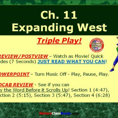Ch. 11 Expanding West (Triple-Play USA)