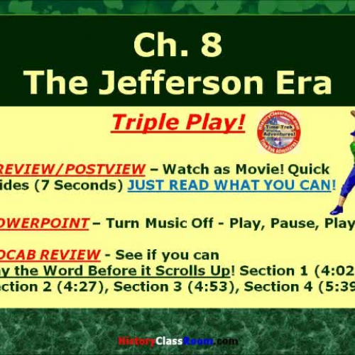 Ch. 8 The Jefferson Era (Triple-Play USA)