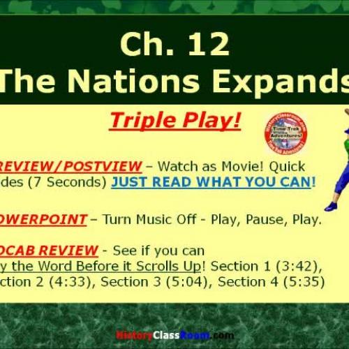 Ch. 12 The North (Triple-Play USA)