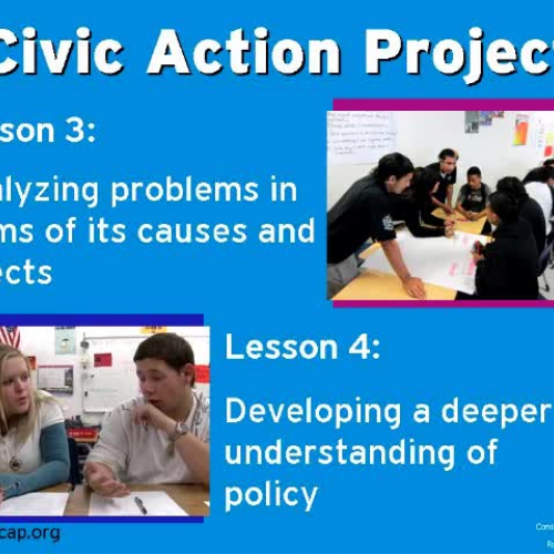 Civic Action Project-Lesson 5: Policymaking i