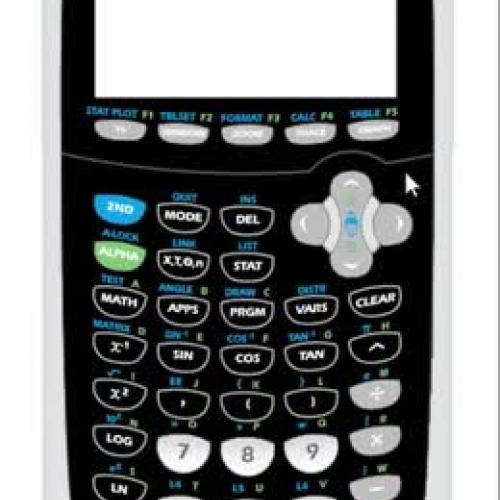 Tutorial: TI-84 Plus C Silver Edition - Appli