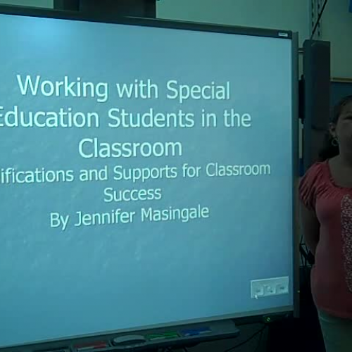 Strategies for special education students in