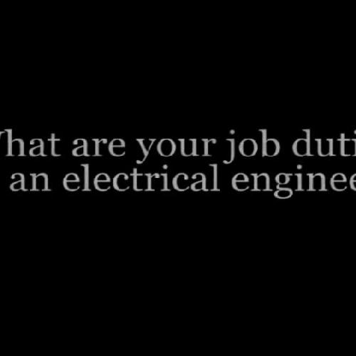 Electrical Engineer - Career Conversation