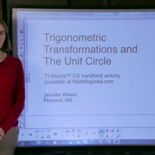 TI-Nspire Lesson: Trigonometric Transformatio