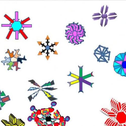 2013 Snowflakes