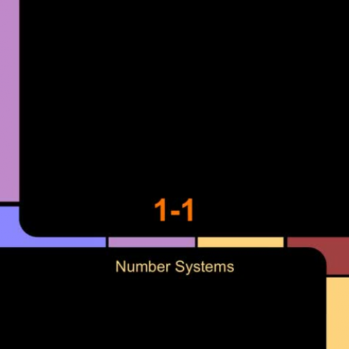 1-1 Number Systems