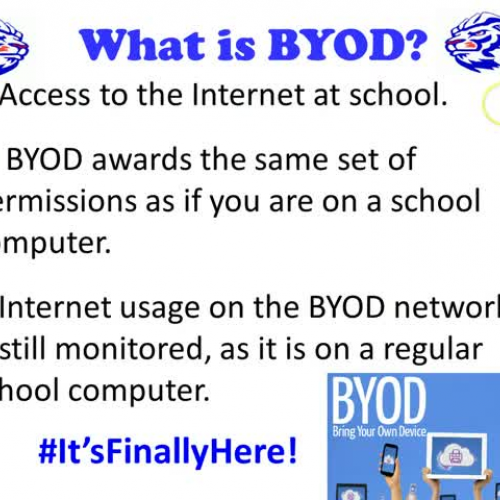 PRHS BYOD Student Video Lesson