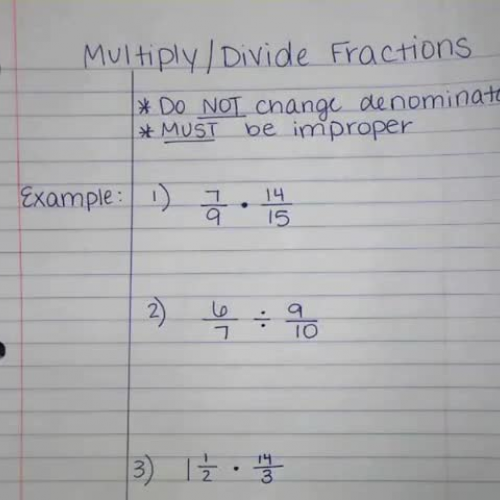 Multiply_Divide Fractions