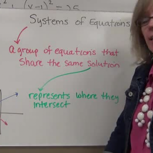 Mixed Systems of Equations