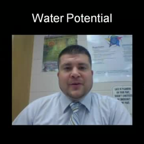 008a - AP Water Potential Problems