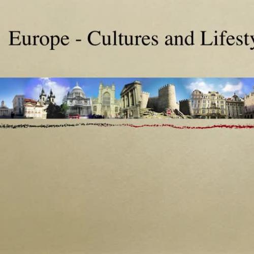 European Culture Video