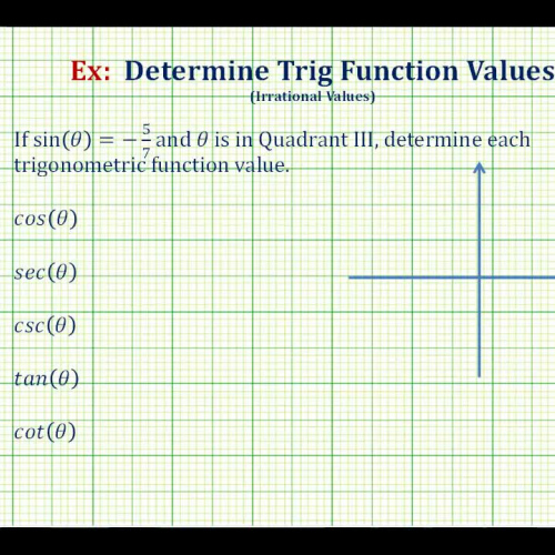 Trig Values Given Sin_ Quad_ Irr Ex