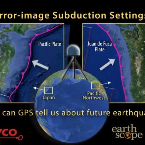 Japan vs Pacific NW?What can GPS tell us abou
