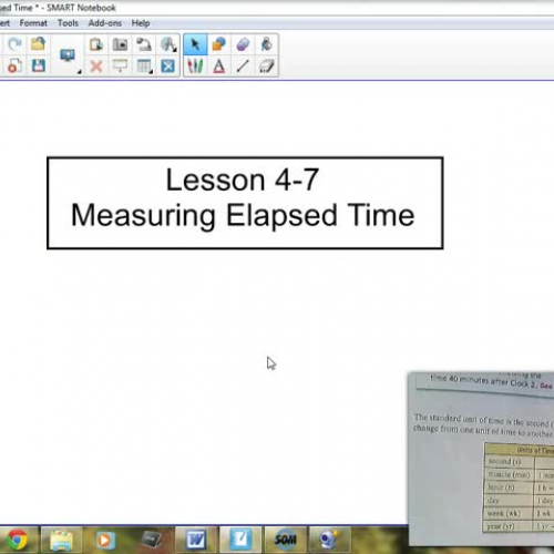 4-7 Measuring Elasped Time 2