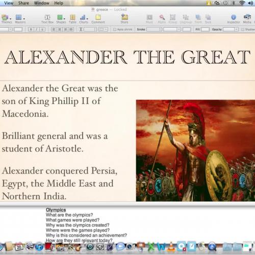 Alexander and Achievements