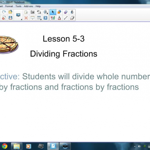 5-3 Dividing Fractions