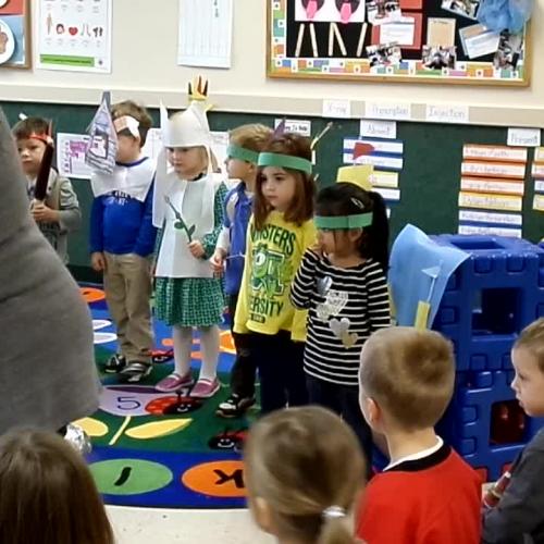 First Thanksgivng Intermediates Classroom