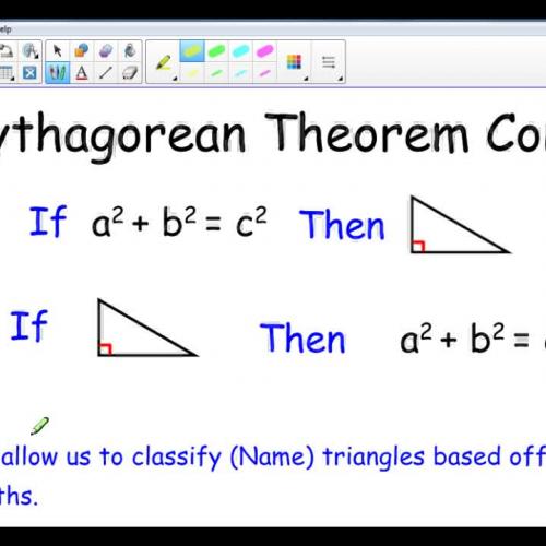 Pythagorean Converse
