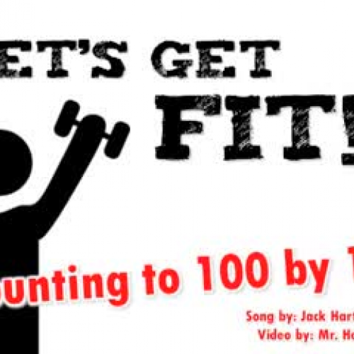 Let's Get Fit! (Counting by 1's t