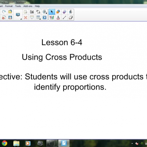 6-4 Using Cross Products