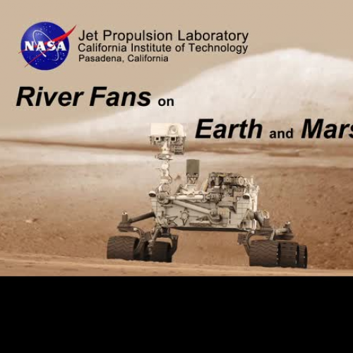 River Fans on Earth and Mars