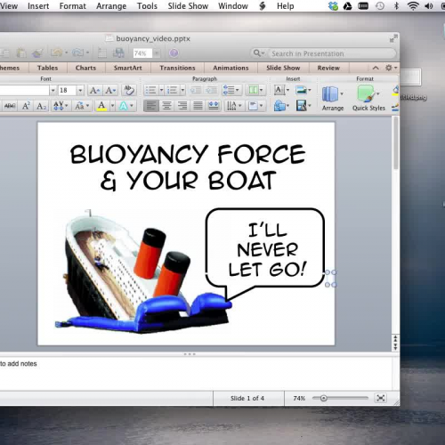 Buoyancy Project