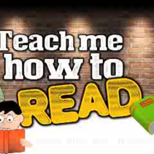 Teach Me How to Read (rap song for kids about
