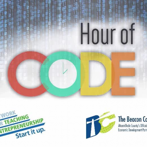 Part 1 Hour of Code with NFTE South Fl