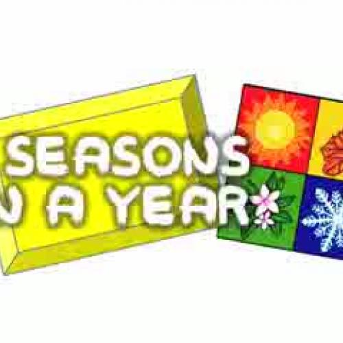 4 Seasons in a Year (kids song)