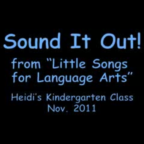 How Do You Sound It Out- - A Song to Teach Ch