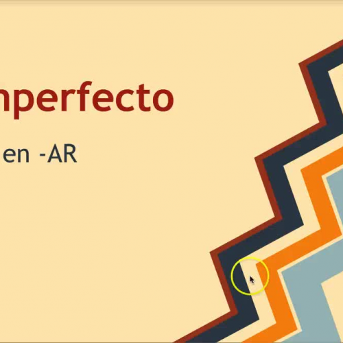 Imperfect (AR verbs) videocast