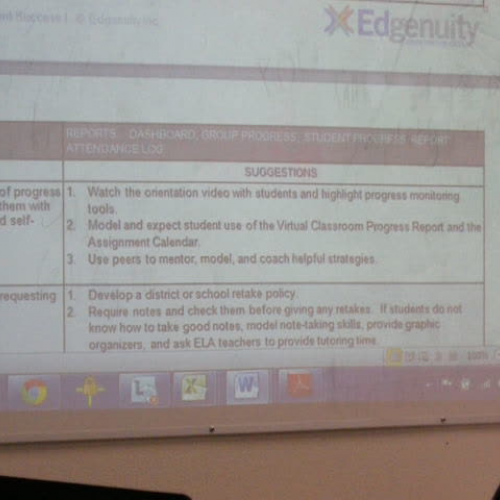 Edgenuity Training 6