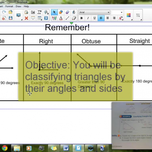 8-4 Classifying Triangles