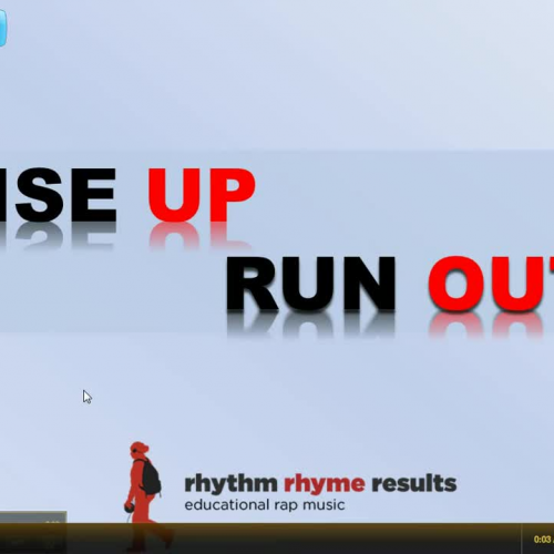 Rise Up Run Out - Graphing Lines using Math R