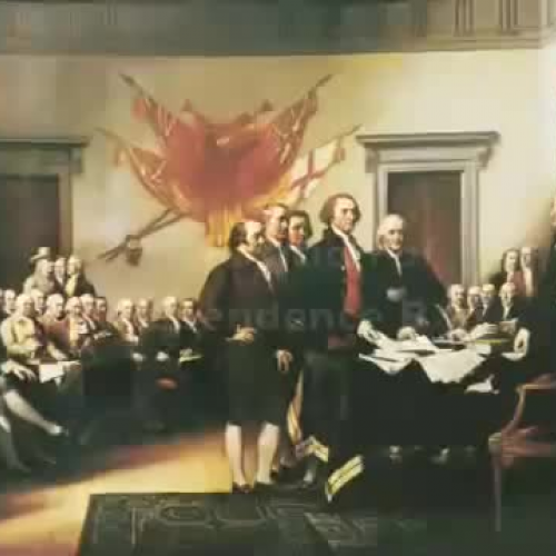 the Declaration of Independence Rap